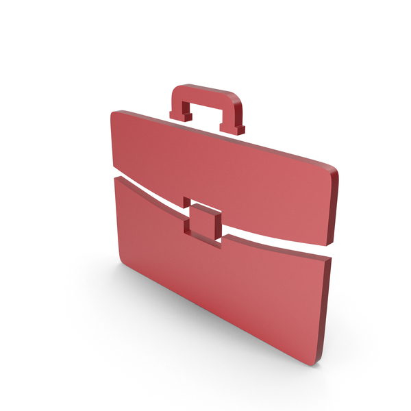 Logo: Briefcase Red Icon PNG & PSD Images