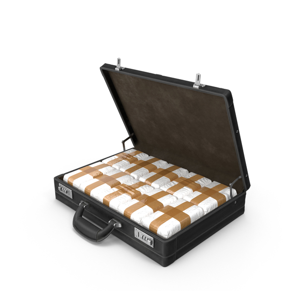 Briefcase with Drugs PNG & PSD Images
