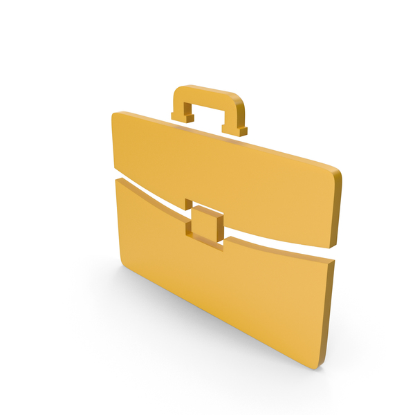 Logo: Briefcase Yellow Icon PNG & PSD Images