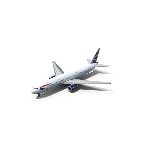 British Airways 767 PNG & PSD Images
