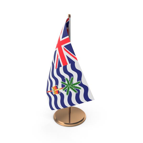British Indian Ocean Territory Desk Flag PNG & PSD Images