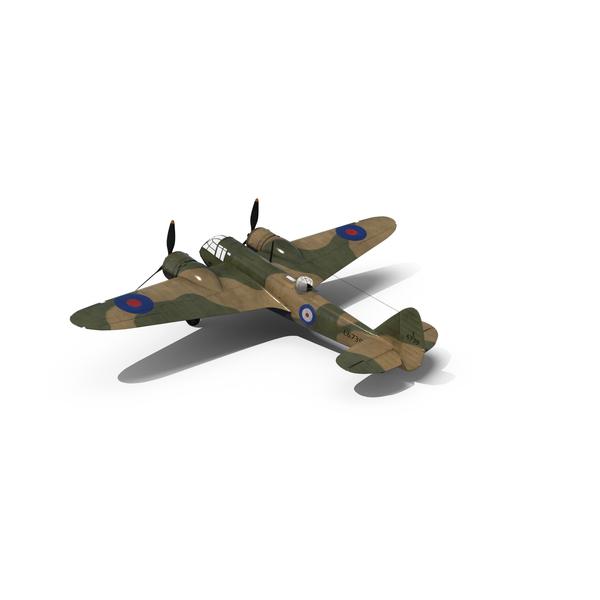 British Light Bomber Aircraft Bristol Blenheim PNG & PSD Images