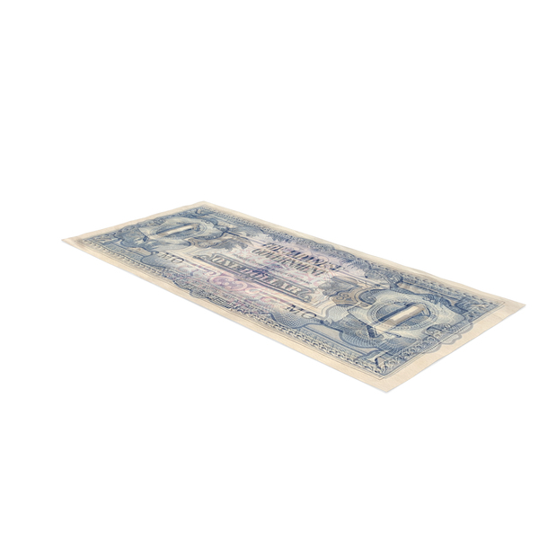British Malaysia 1 Dollar Note PNG & PSD Images