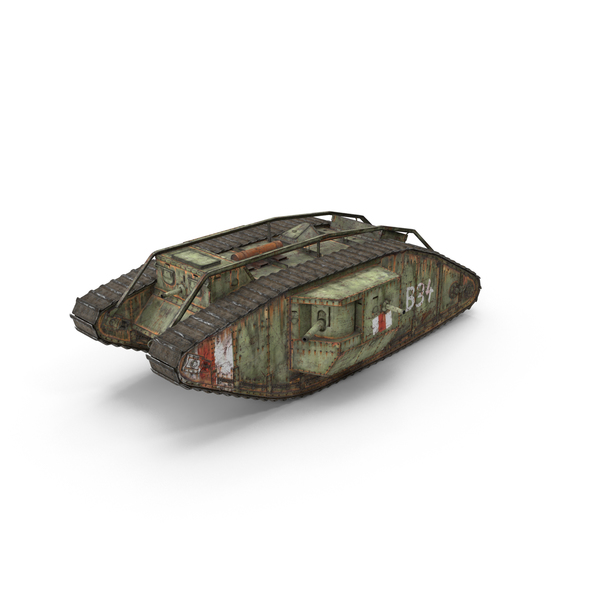 British Mark 4 Tank PNG & PSD Images