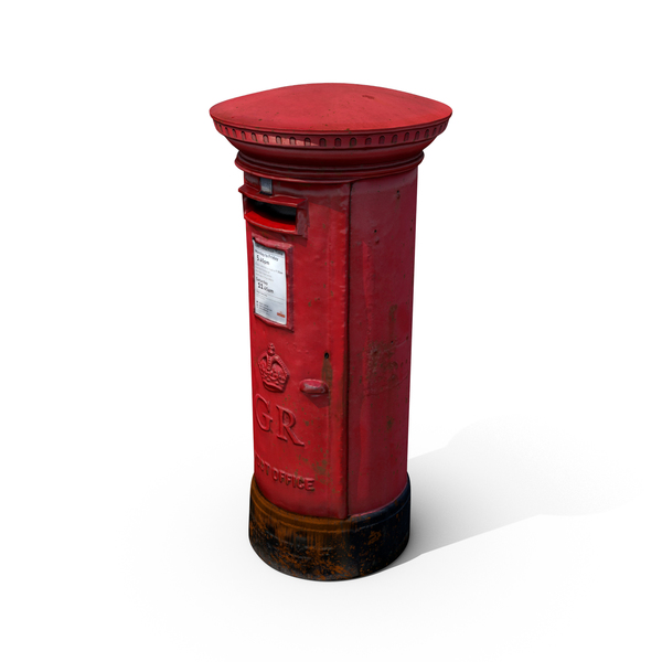 British Post Box Object