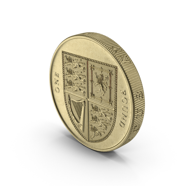 British Pound Coin Object