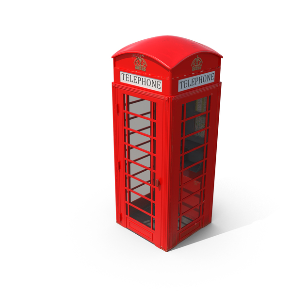 Phone Booth: British Telephone Box PNG & PSD Images