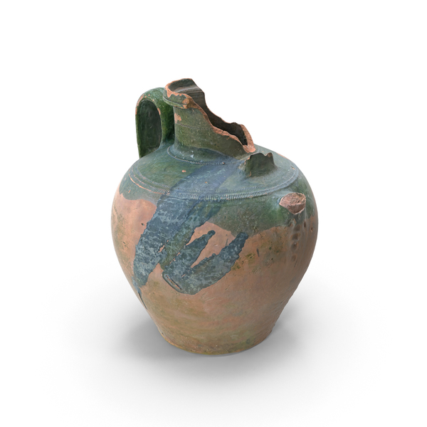 Broken Clay Pot PNG & PSD Images