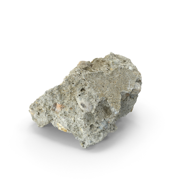 Broken Concrete Piece PNG & PSD Images