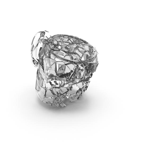 Broken Glass Mug PNG & PSD Images