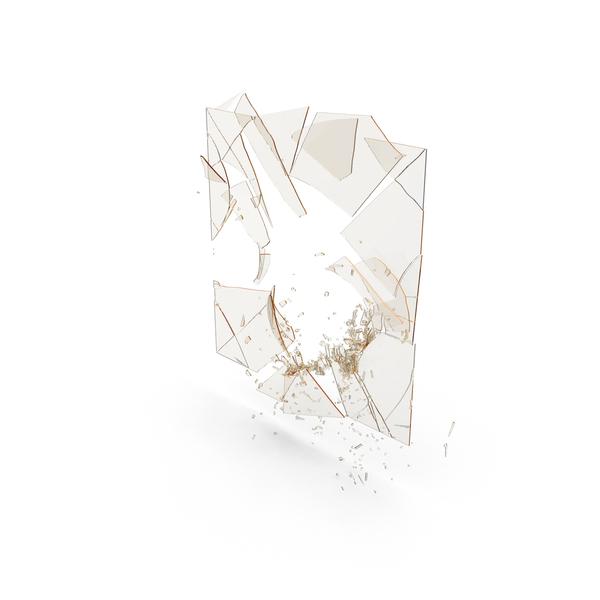 Debris: Broken Glass Pane PNG & PSD Images