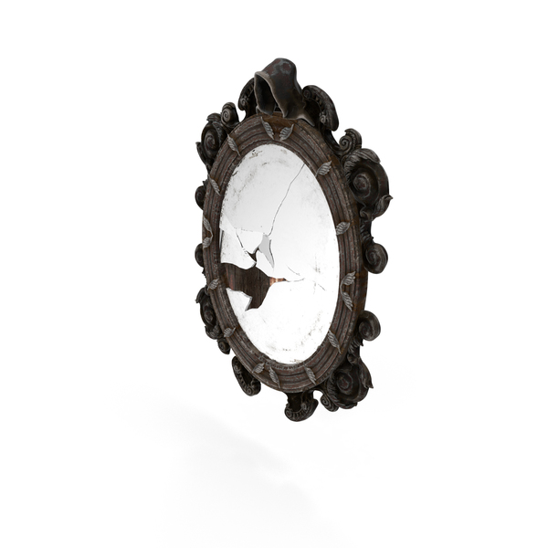 Broken Mirror Object