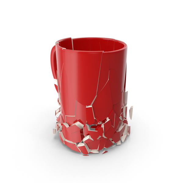 Coffee Cup: Broken Mug PNG & PSD Images