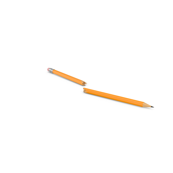 Broken Pencil PNG & PSD Images