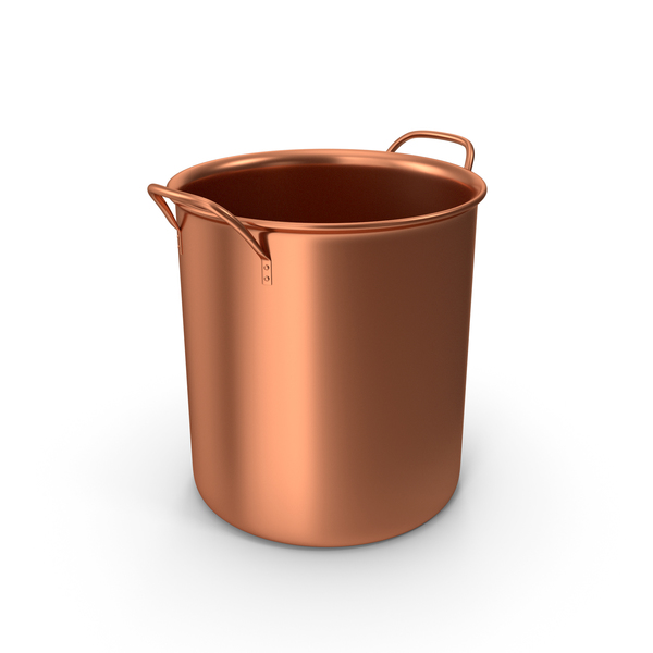 Bronze Pot No Cap PNG & PSD Images