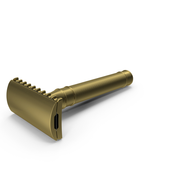 Bronze Safety Razor PNG & PSD Images