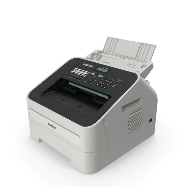 Photocopier: Brother FAX 2840 Laser Fax Machine with Copy Function PNG & PSD Images