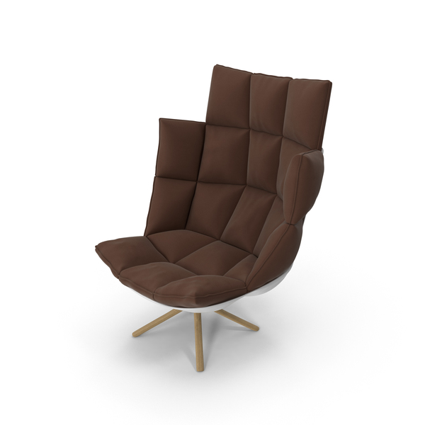 Arm Chair: Brown Armchair PNG & PSD Images