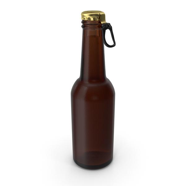 Brown Beer Bottle PNG & PSD Images