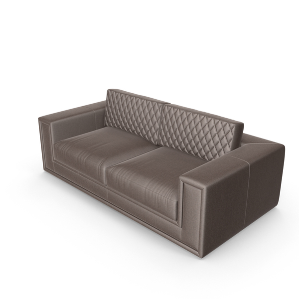 Brown Donald Modern Sofa PNG & PSD Images