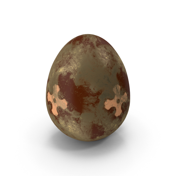 Brown Easter Egg PNG & PSD Images