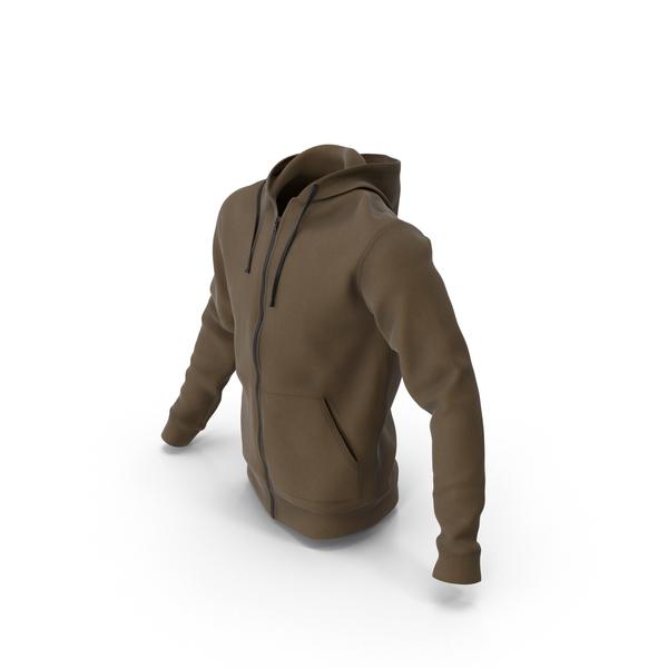 Sweatshirt: Brown Hoody PNG & PSD Images