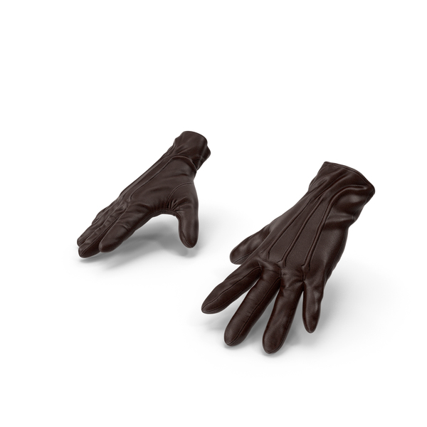 Brown Leather Gloves PNG & PSD Images