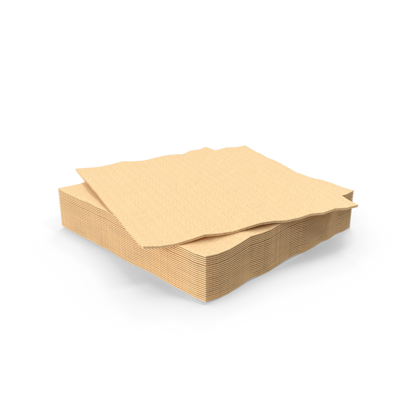Brown Napkin PNG & PSD Images