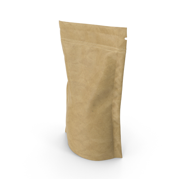 Food Container: Brown Paper Vacuum Sealed  Bag PNG & PSD Images