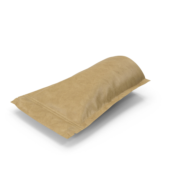 Brown Paper Vacuum Sealed  Bag PNG & PSD Images
