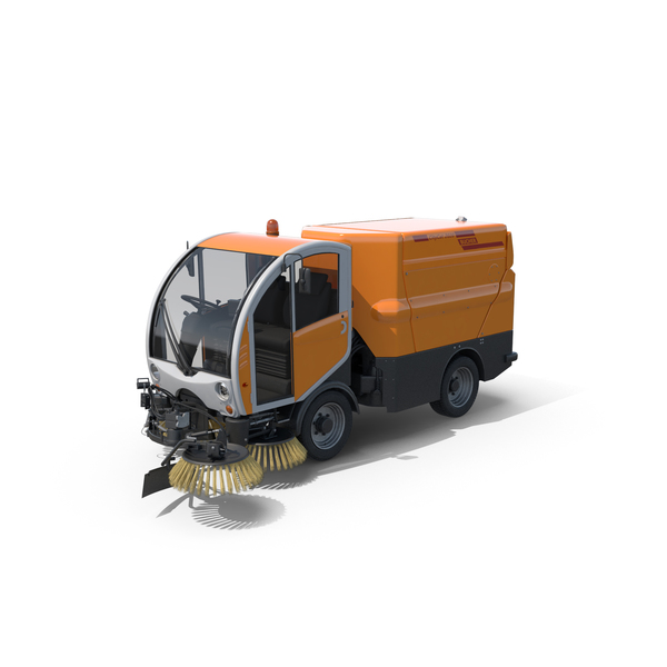 Bucher Citycat 2020 Compact Street Sweeper PNG & PSD Images