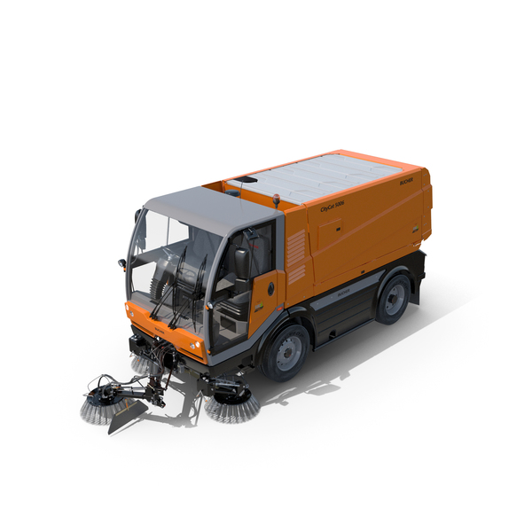 Bucher CityCat 5006 Sweeper Truck PNG & PSD Images