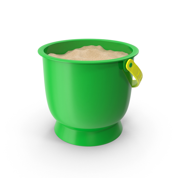 Bucket of Sand PNG & PSD Images