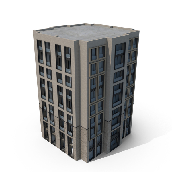 Hotel: Building PNG & PSD Images