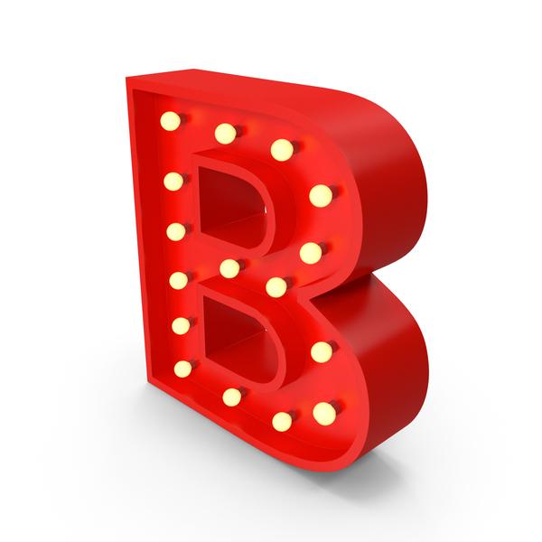 Holder: Bulb Letter B PNG & PSD Images