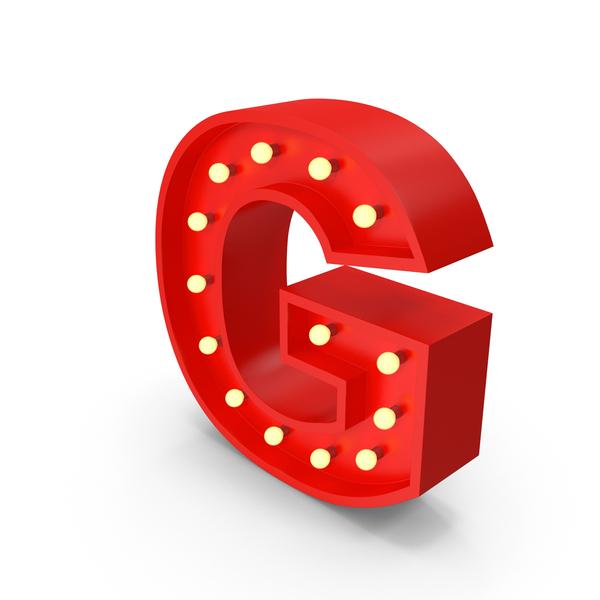 Holder: Bulb Letter G PNG & PSD Images