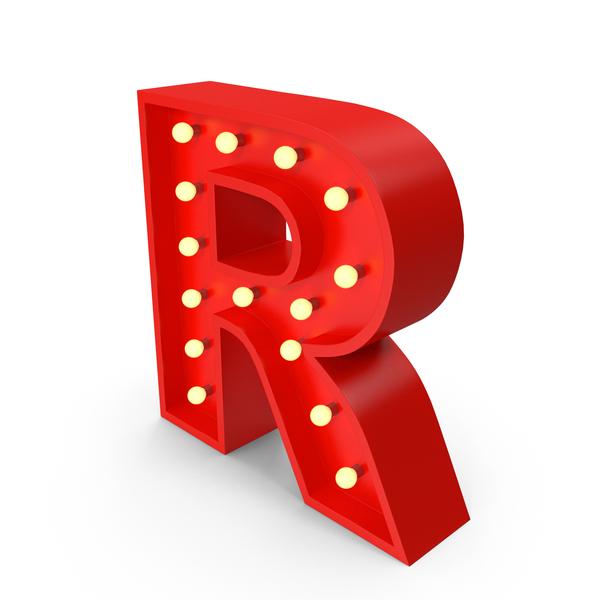 Holder: Bulb Letter R PNG & PSD Images