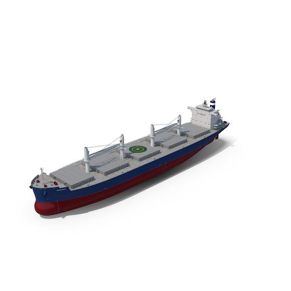 Bulk Carrier Ship PNG & PSD Images