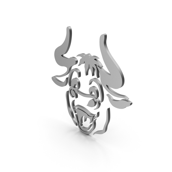 Bull cartoony Metal PNG & PSD Images