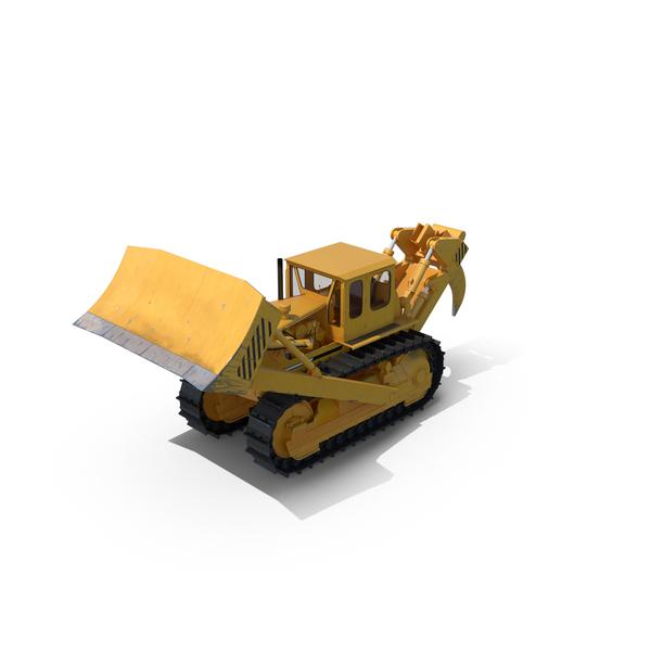 Bulldozer Komatsu PNG & PSD Images