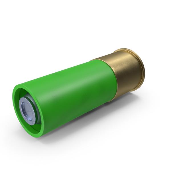 Shotgun Shell: Bullet Green PNG & PSD Images