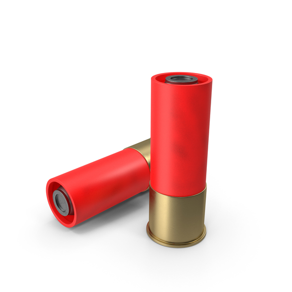 Shotgun Shell: Bullets Red PNG & PSD Images