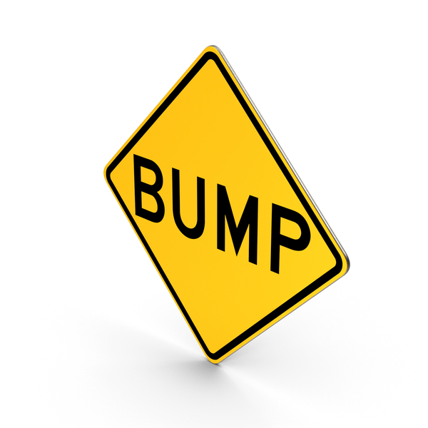 Bump Road Sign PNG & PSD Images