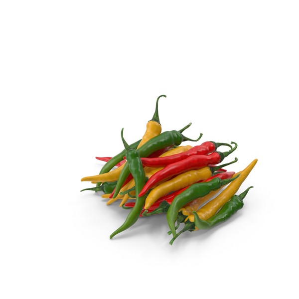 Bunch of Chili Peppers PNG & PSD Images