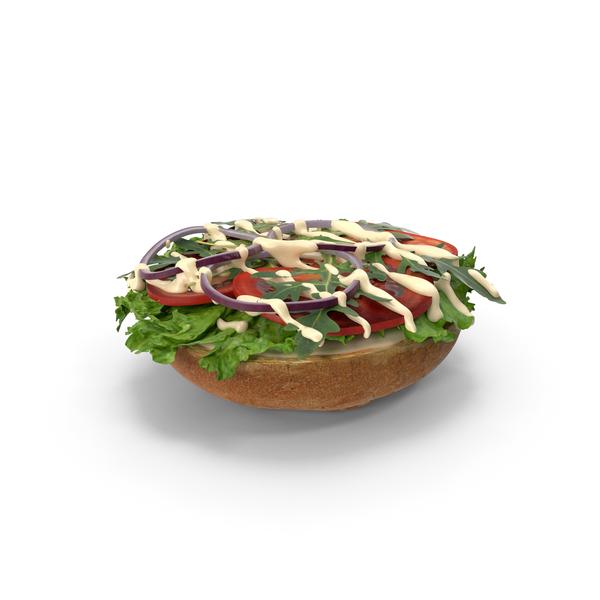 Burger Open No Patty PNG & PSD Images
