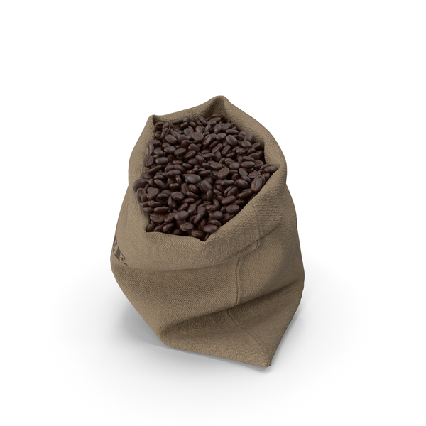 Burlap Coffee Bean Sack PNG & PSD Images
