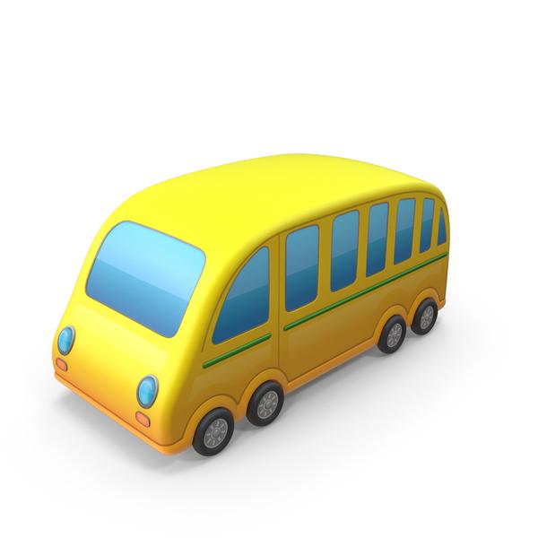School: Bus Cartoon PNG & PSD Images