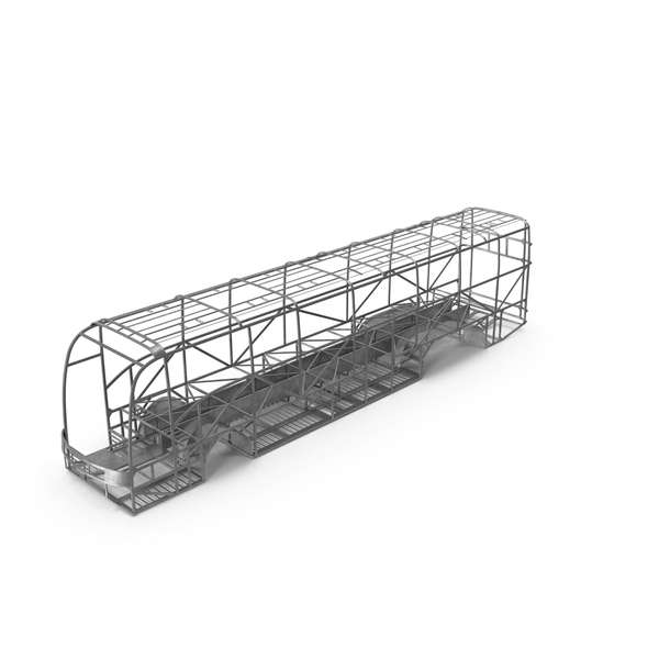 Car: Bus Frame Structure PNG & PSD Images