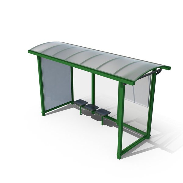 Bus Stop With Stand PNG & PSD Images