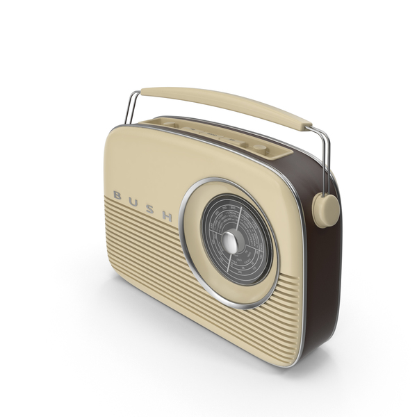 Bush Retro Radio PNG & PSD Images